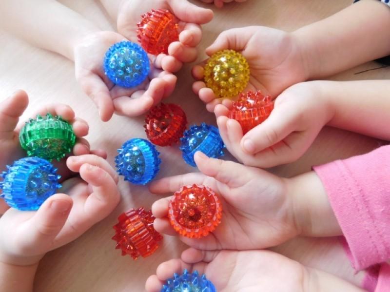 Игры с массажным шариком СУ-ДЖОК
