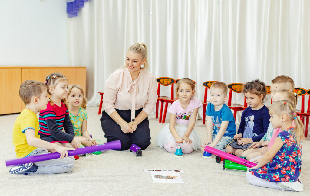 Ритм в музыкальном развитии детей
