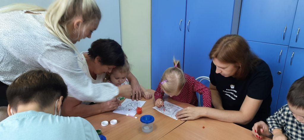Нескучные занятия с малышами